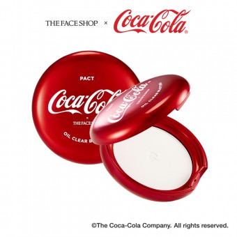 Oil Clear Blotting Pact (Coca-Cola)
